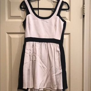 Jay Godfrey Black and Tank Dress Size 8